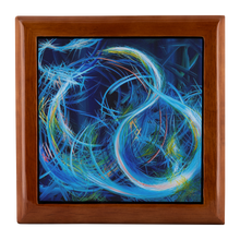 Load image into Gallery viewer, Just Floating On The Tears (Flears) Jewelry Box - Acrylic Alchemy