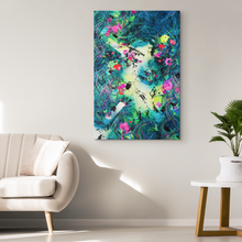 Load image into Gallery viewer, Searching For hoMe Canvas - Acrylic Alchemy