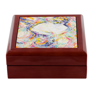 Intimacy Of The Infinites (Intimafancy) Jewelry Box - Carini Arts
