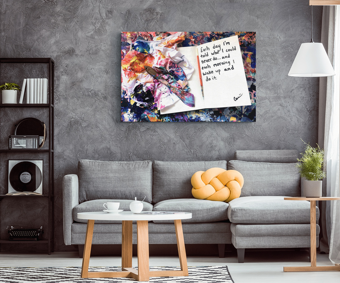 michael carini inspirational quote decor and canvas art
