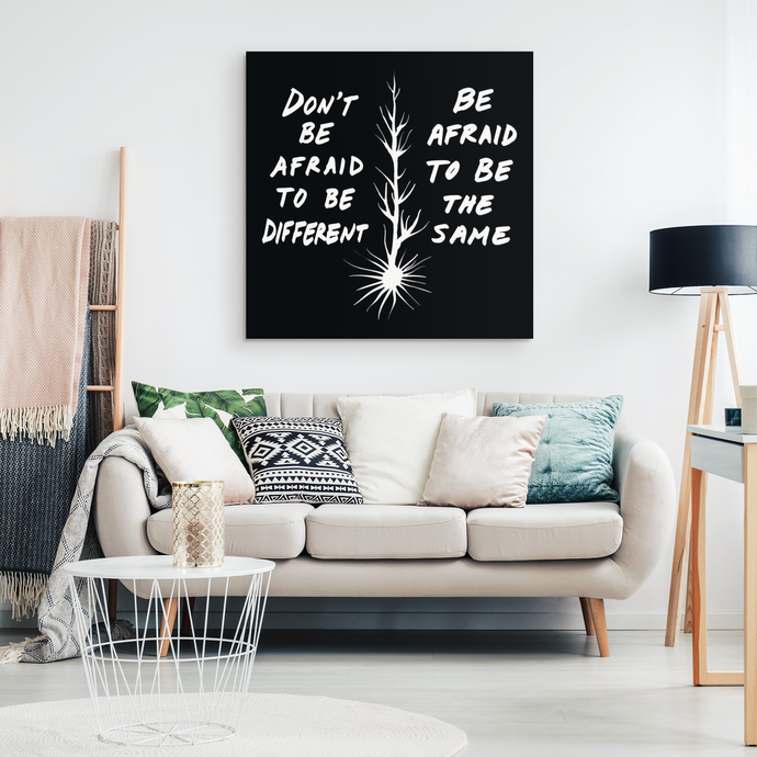 inspirational quote decor from Carini Arts and Michael Carini