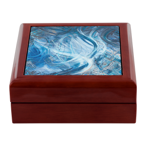 Consumption Of The White Whale (Ahadevale) Jewelry Box - Carini Arts