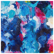 Load image into Gallery viewer, Beautiful Accidents Blue Monday Mix Canvas - Carini Arts