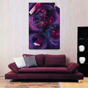 Mirror rorriM (The Reflection) Canvas - Carini Arts