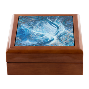 Consumption Of The White Whale (Ahadevale) Jewelry Box - Acrylic Alchemy
