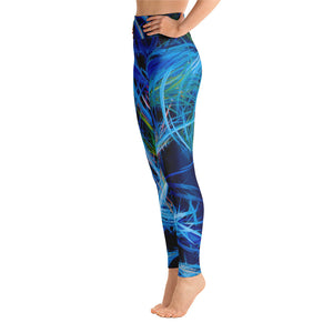 Just Floating On The Tears (Flears) Leggings - Carini Arts