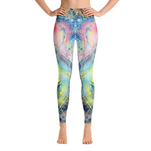 Getting Back To Where I've Never Been (Coeurd'aleuer) Leggings - Carini Arts
