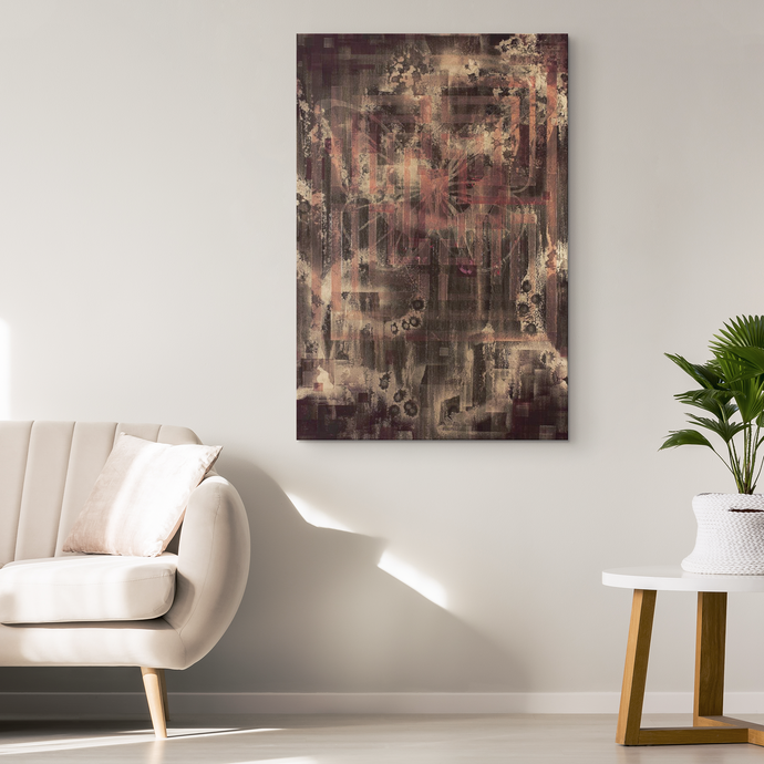 Labyrinth Of The Butterfly Canvas