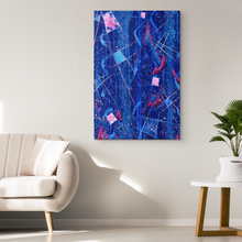 Load image into Gallery viewer, Beautiful Decay Canvas - Acrylic Alchemy