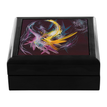 Load image into Gallery viewer, Fractured Realities And Dreams Brought To Light Jewelry Box - Carini Arts