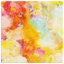 Load image into Gallery viewer, Beautiful Accidents Yellow Aura Mix Canvas - Carini Arts