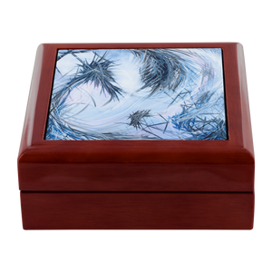 You Called Out For Me And So I Came To You (The Dreamer And The Night Terrors) Jewelry Box - Acrylic Alchemy