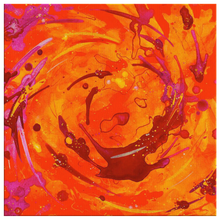 Load image into Gallery viewer, beautiful orange canvas art