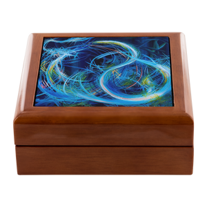 Just Floating On The Tears (Flears) Jewelry Box - Acrylic Alchemy