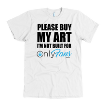 Load image into Gallery viewer, OnlyFans Art Tee - Carini Arts