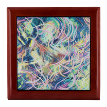 Load image into Gallery viewer, The Day Pandora Set Me Free (Misteriora) Jewelry Box - Carini Arts