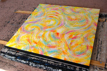 Load image into Gallery viewer, Regenaissance (Yellow Base) Canvas - Acrylic Alchemy