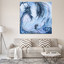 Load image into Gallery viewer, You Called Out For Me And So I Came To You (The Dreamer And The Night Terrors) Canvas - Carini Arts