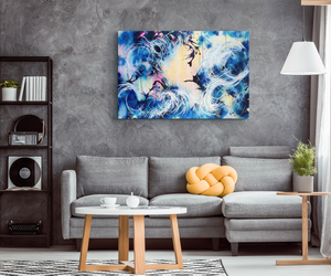 Falling Towards The Sky Canvas - Carini Arts