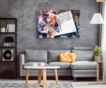 Load image into Gallery viewer, The Thing I love Most About Dreams Quote Canvas - Acrylic Alchemy