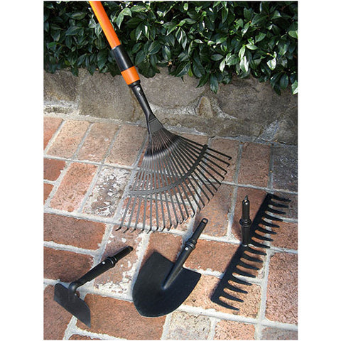 4 in 1 Interchangeable Head Garden Tool Set