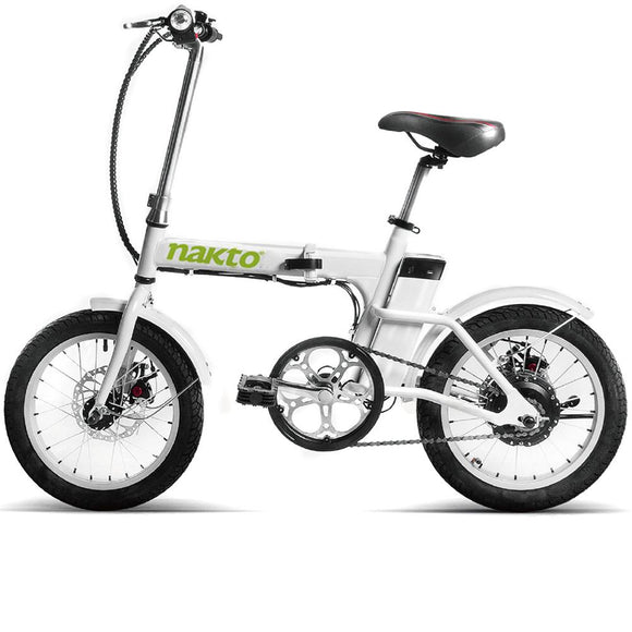 FOLDING ELECTRIC BICYCLE WITH USB CHARGER 16