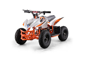 GO-BOWEN TITAN 350W 24V KIDS MINI QUAD XW-EA23 ATV WHITE