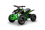 GO-BOWEN TITAN 350W 24V KIDS MINI QUAD XW-EA23 ATV GREEN