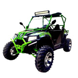 FANG POWER XTI 400 HAMMER UTV GREEN AND BLACK