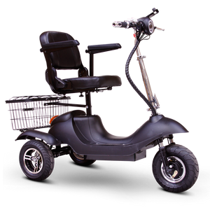 EW-20 Electric 3 Wheeled Sporty Mobility Scooter