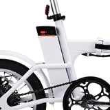 "FOLDING ELECTRIC BICYCLE WITH USB CHARGER 16"" SKYLARK"