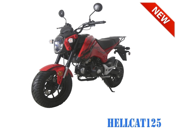 HELLCAT 125 4 Speed Manual GROM SCOOTER