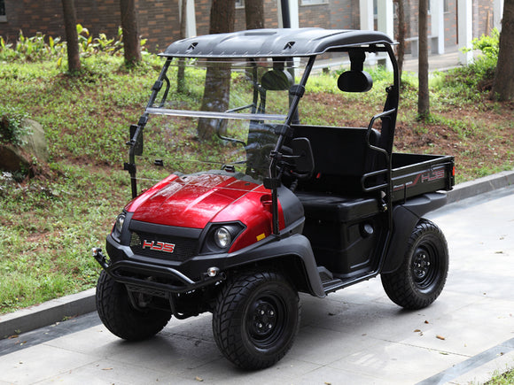 LINHAI HJS BIGHORN 200 VX UTV GOLF CART RED