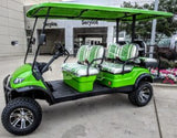 ZIGGY 4+2 LIFTED ELECTRIC 4 KW 6 SEAT GOLF CART