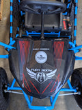 FURRY 800 WATT 36V ELECTRIC GO KART TURBOPOWERSPORTS