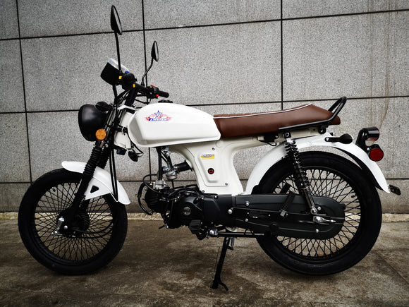 Limited Edition Nostalgia 110cc Automatic -Speed Manual Motorcycle Scooter