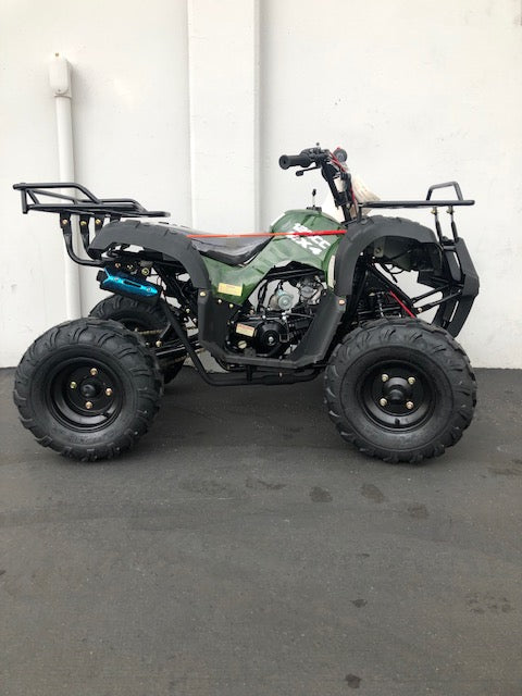 XTI 125cc UTILITY AUTOMATIC ATV with reverse