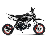 BMS PRO 70 SEMI DIRT BIKE BLACK