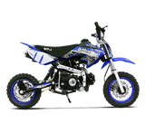 BMS PRO 70 SEMI DIRT BIKE BLUE