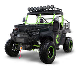 Green black 2 Seater utility utv side by side. BMS the Beast 1000 2S.