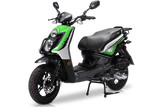 BMS CAVALIER 150 AUTOMATIC SCOOTER GREEN