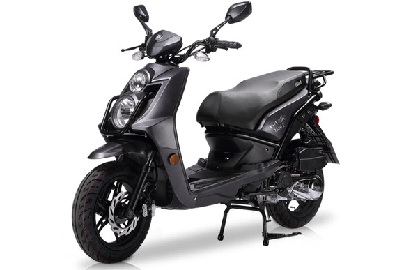 BMS CAVALIER 150 AUTOMATIC SCOOTER MATTE BLACK