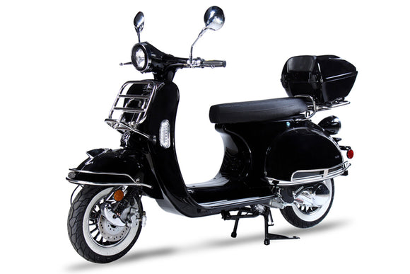 BMS CHELSEA 150 SCOOTER BLACK