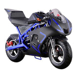GO-BOWEN 40CC POCKET BIKE G00001 BLUE/BLACK