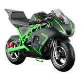 GO-BOWEN 40CC POCKET BIKE G00001 GREEN/BLACK