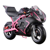 GO-BOWEN 40CC POCKET BIKE G00001 PINK/BLACK
