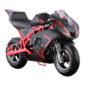 GO-BOWEN 40CC POCKET BIKE G00001 RED/BLACK