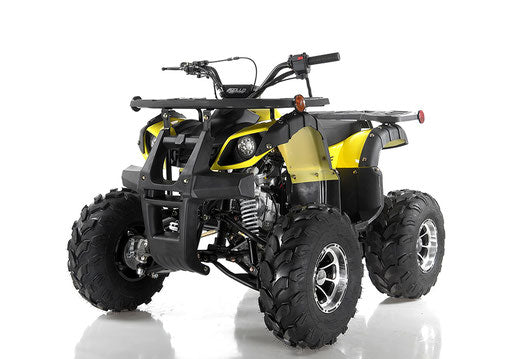 STRIKE 125CC AL ATV AUTOMATIC W/ REVERSE YELLOW