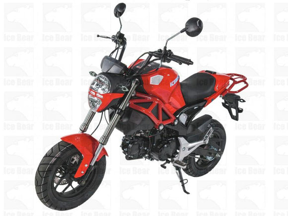 LITTLE MONSTER 125cc Motorcycle