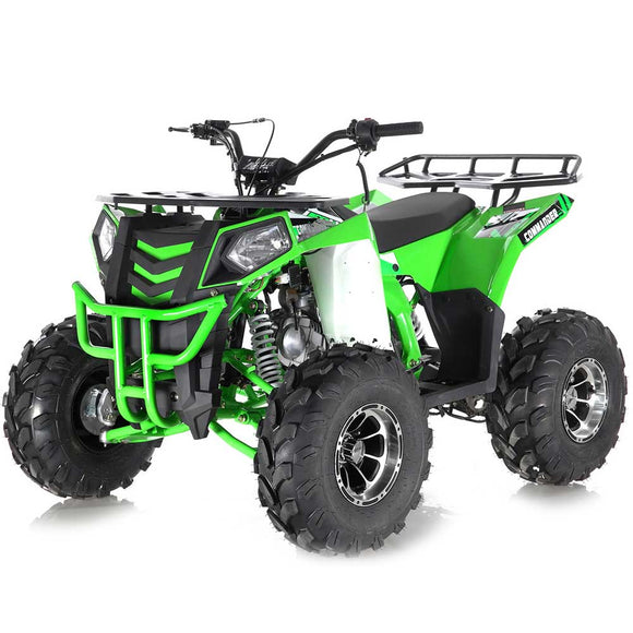 COMMANDER DLX 125CC AUTOMATIC ATV W/ REVERSE CA GREEN STICKER